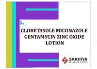 Clobetasole + Miconazole + Gentamicin + Zinc Oxide Lotion