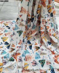 Faridabad Silk Digital Print Fabric