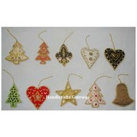 Different Design And Shape Christmas Hanging Ornament