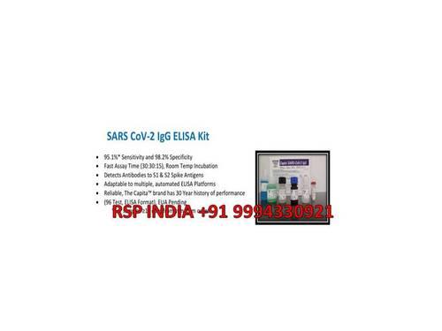 SARS CoV-2 IgG ELISA Kit