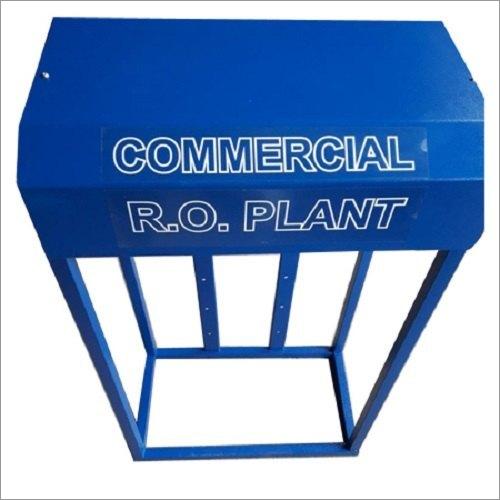 50lph MS Skid Half Covered Ro Plant