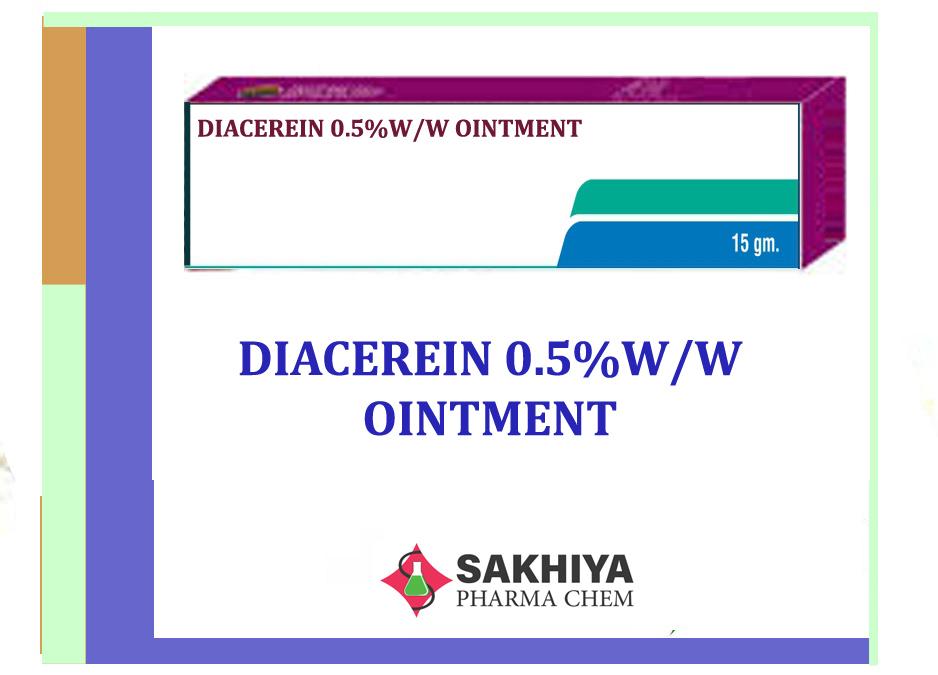 Diacerein Ointment