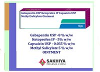 Gabapentin Ketoprofen Capsaicin Methyl Salicylate Oinment