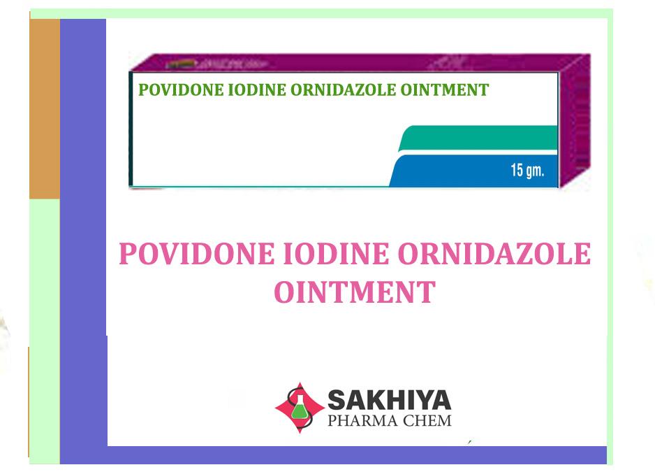Povidone Iodine Ornidazole Ointment