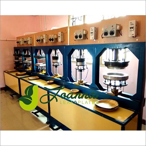 6 Station Areca Leaf Palm Plate Making Machine