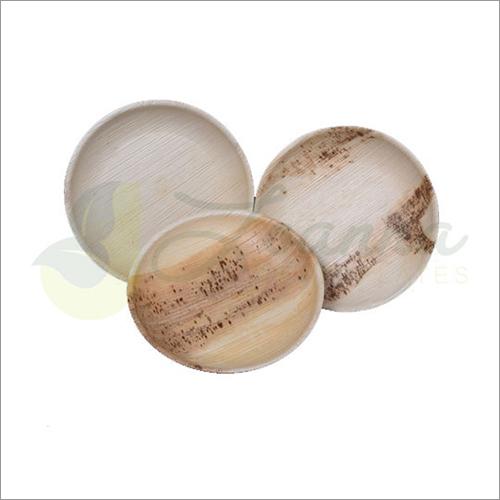 Areca Palm Round Plates