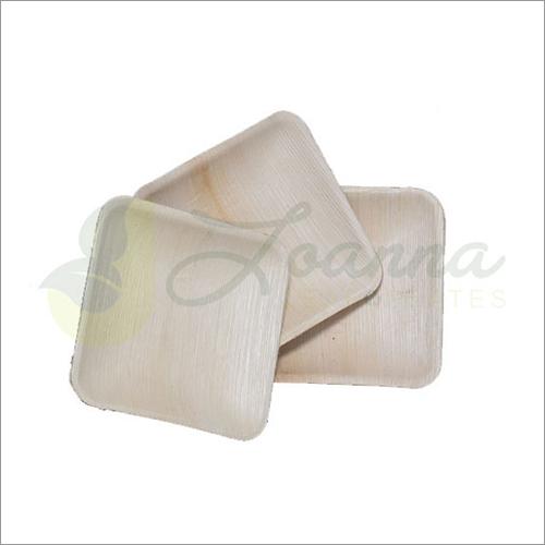 6 Inch Square Areca Plates