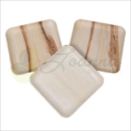 10 Inch Square Areca Plates