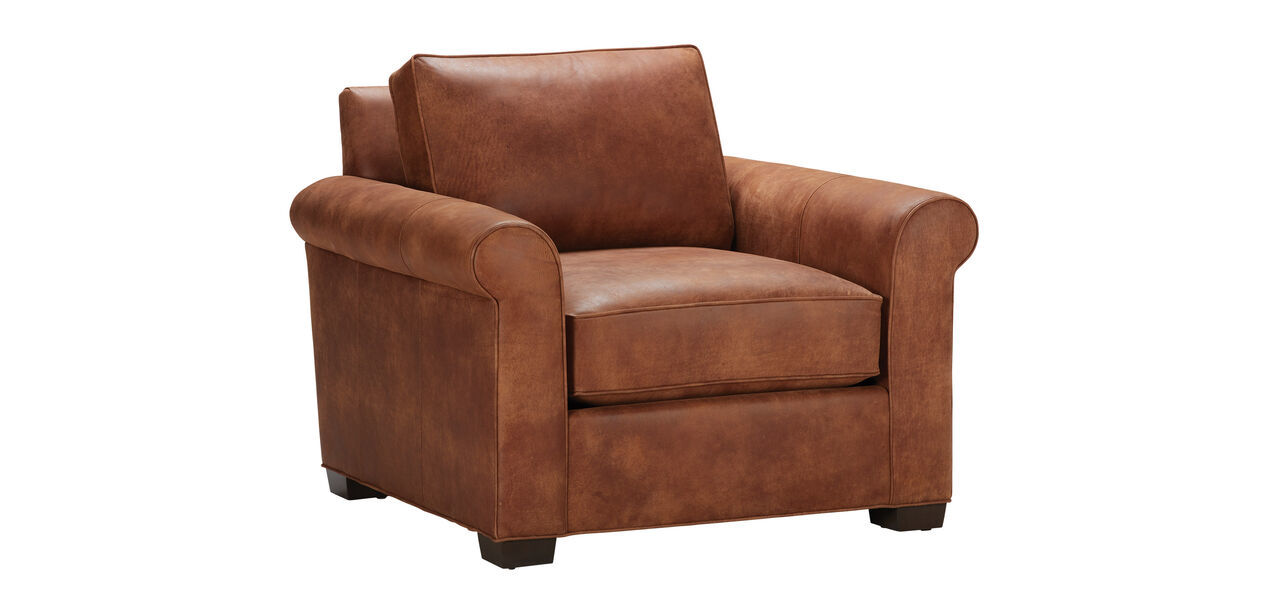 One Seater Leather Sofa