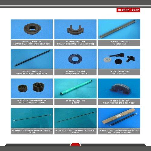 IR 2002 / 2202 Spare Parts