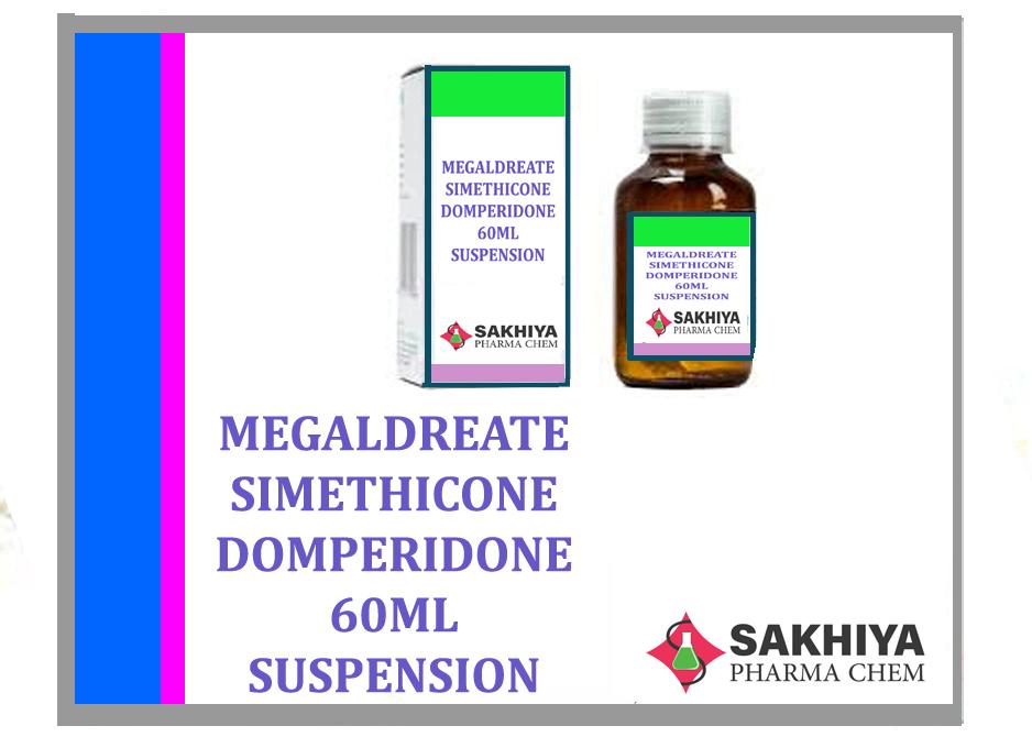 Magaldrate Simethicone Domperidone 60ml Suspension
