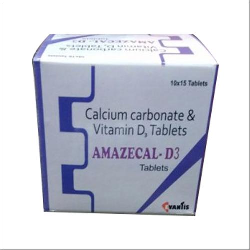 Calcium Carbonate Vitamin-D3 Tablet