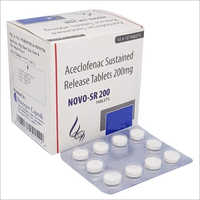 Aceclofenac Sustained Release Tablet