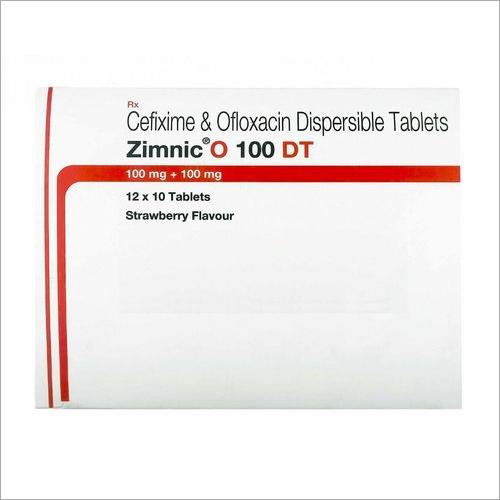 Cefixime And Ofloxacin Dispersible Tablet