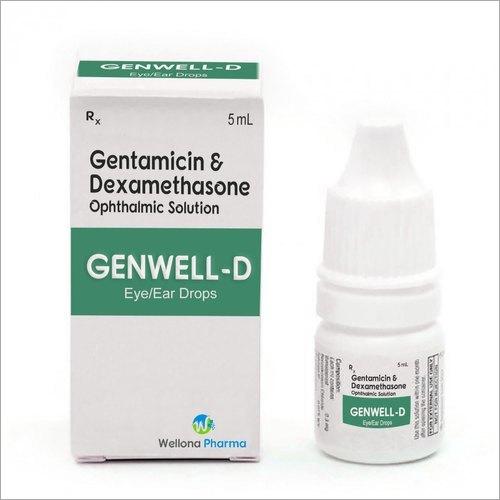 5ml Gentamicine And Dexamethasone Ophthalmic Solution