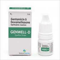 Gentamicine And Dexamethasone Ophthalmic Solution