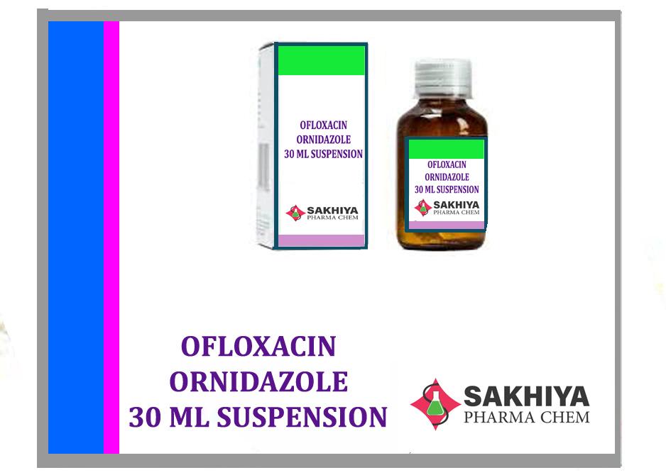 Ofloxacin Ornidazole 30ml Suspension