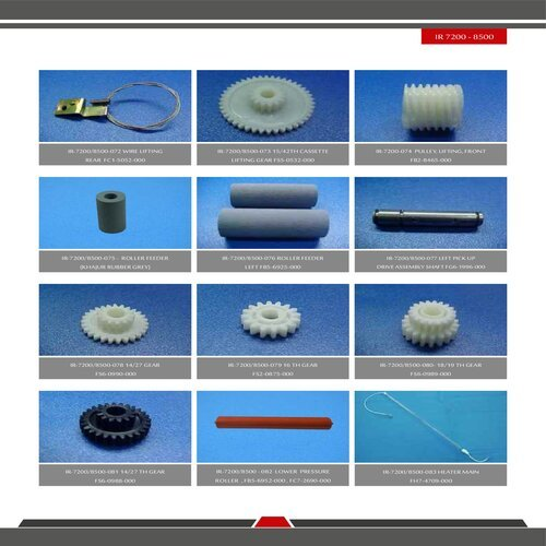 IR 8500 / 7200 Spare Parts