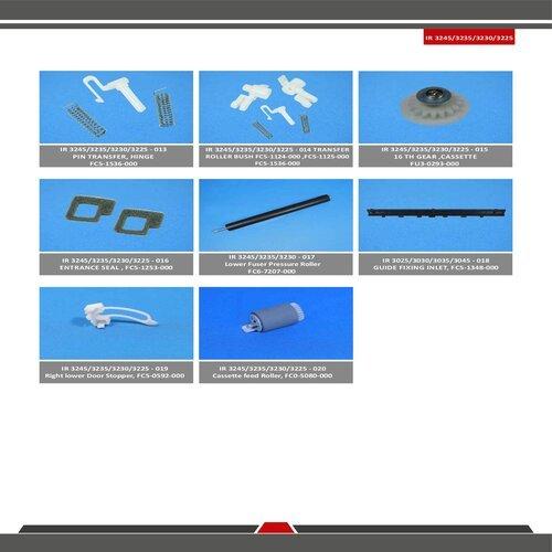 Ir 3225 / 3235 / 3245 Spare Parts