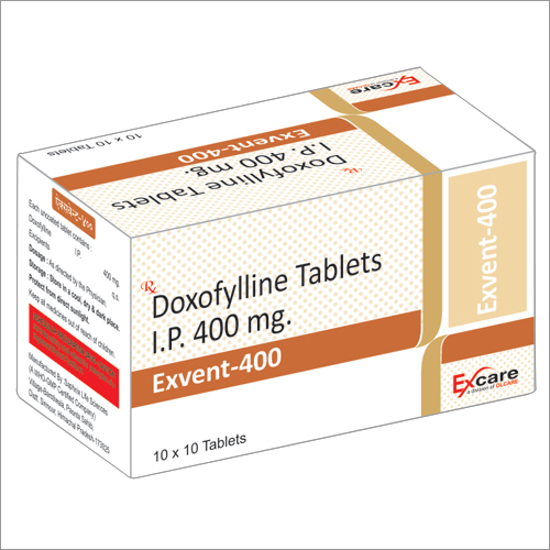 400mg Exvent Tablets