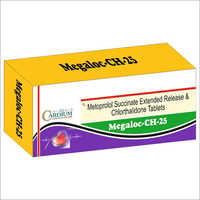 25mg Megaloc-CH Tablets