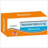 0.3mg Moxony Tablets