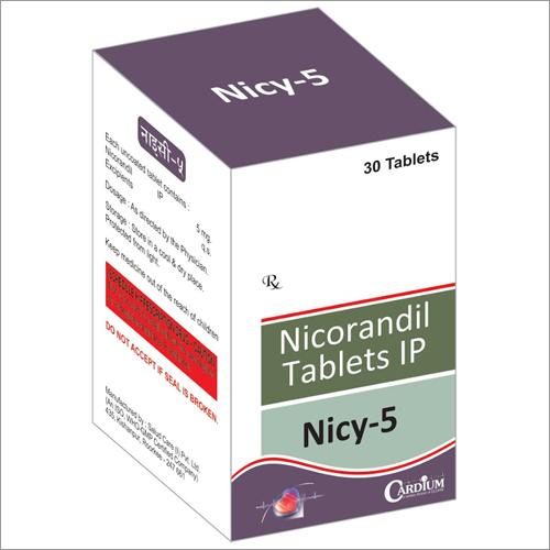 Nicorandil Tablets IP