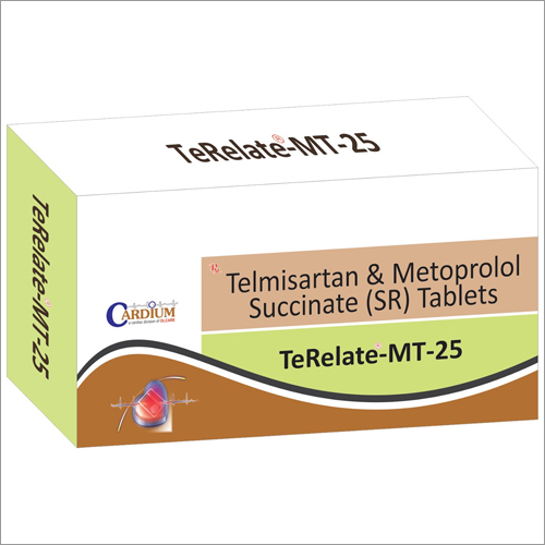 25mg Terelate-H Tablets