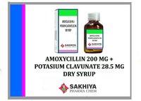 Amoxy 200mg + Clav. 28.5mg dry syrup