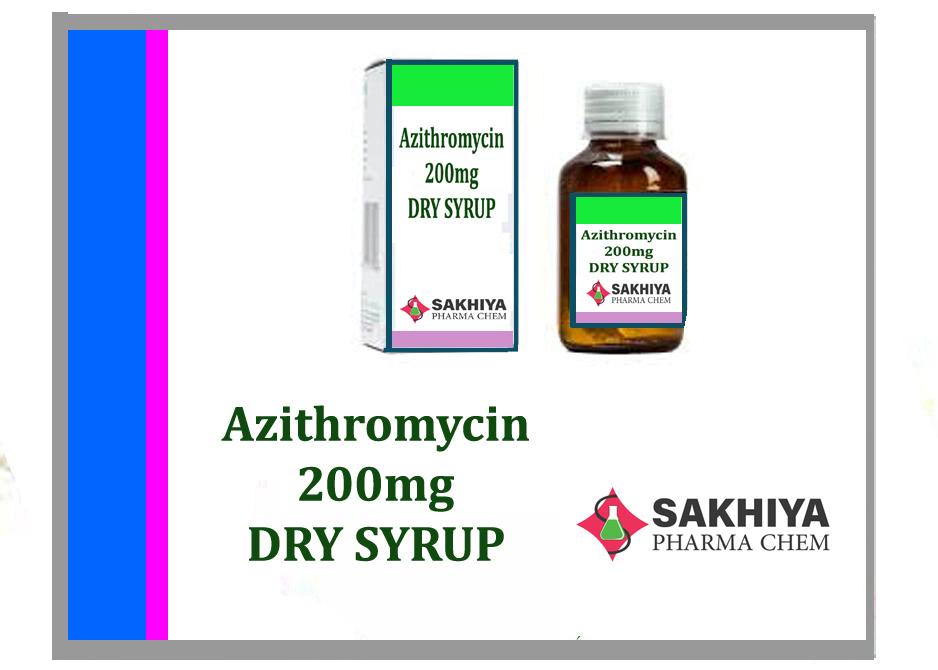 Azithromycin 200mg Dry Syrup