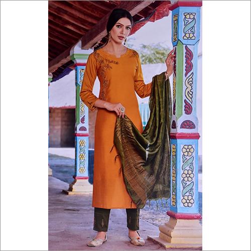 Ladies Pure Cotton Readymade Designer Suit