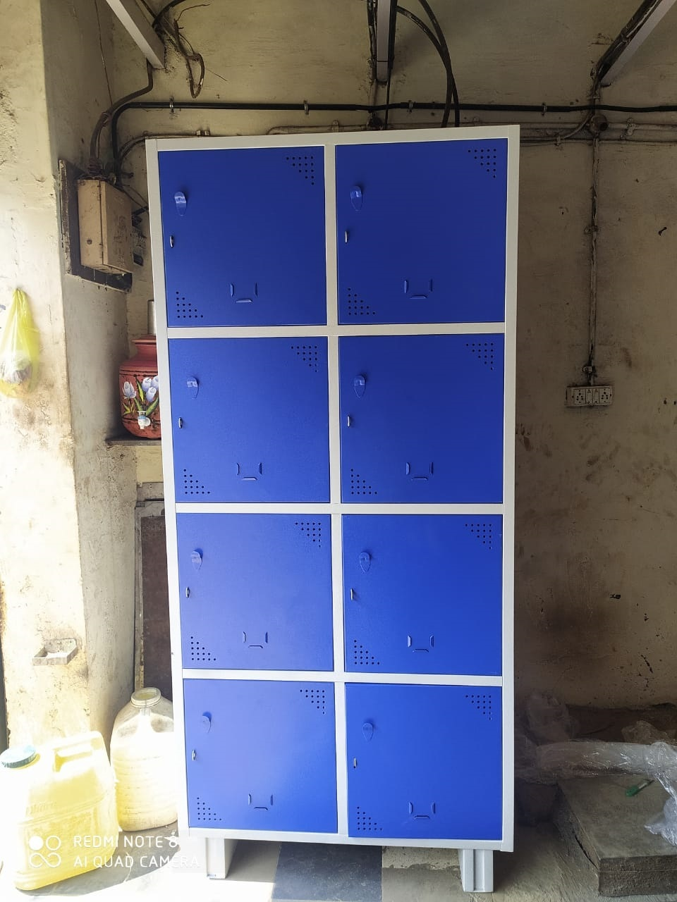 8 Compartment Office Locker