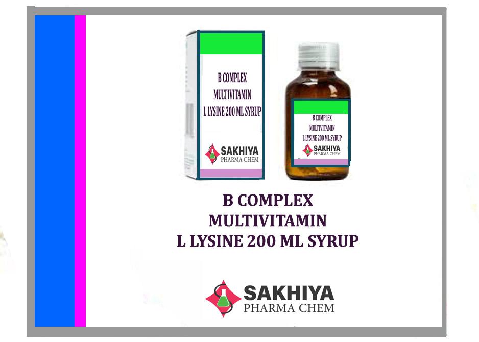 B Complex + Multivitamin With L Lysine Syrup