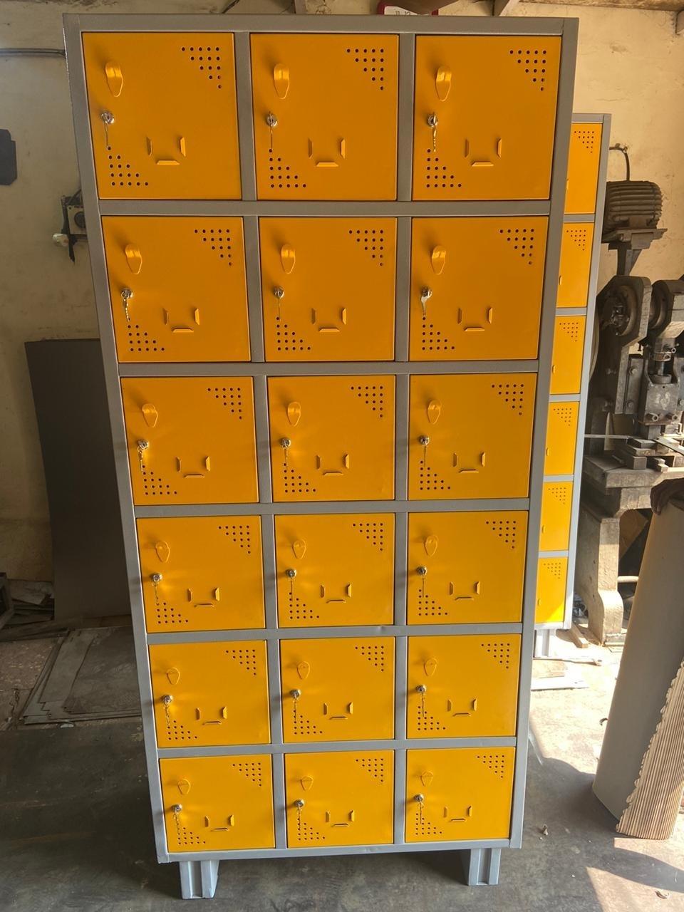 Industrial 18 Compartment Locker
