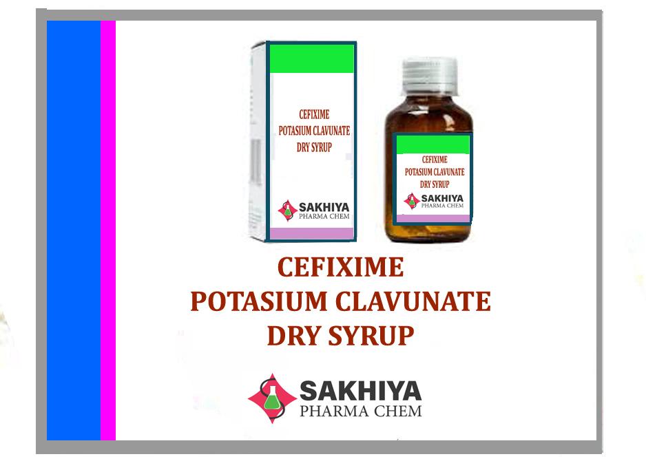 Cefixime 50mg + clav. 28.5mg Dry Syrup