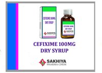 Cefixime 100mg Dry Syrup