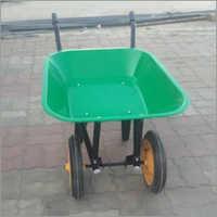 Plastic Body Double Wheelbarrow
