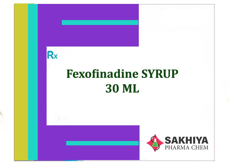 Fexofenadine 30ml Syrup