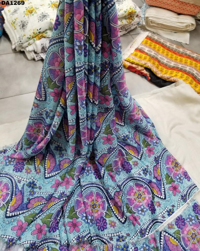 Faridabad Silk Digital Print Fabric