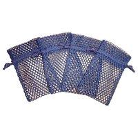 Mesh Fabric Drawstring Bag