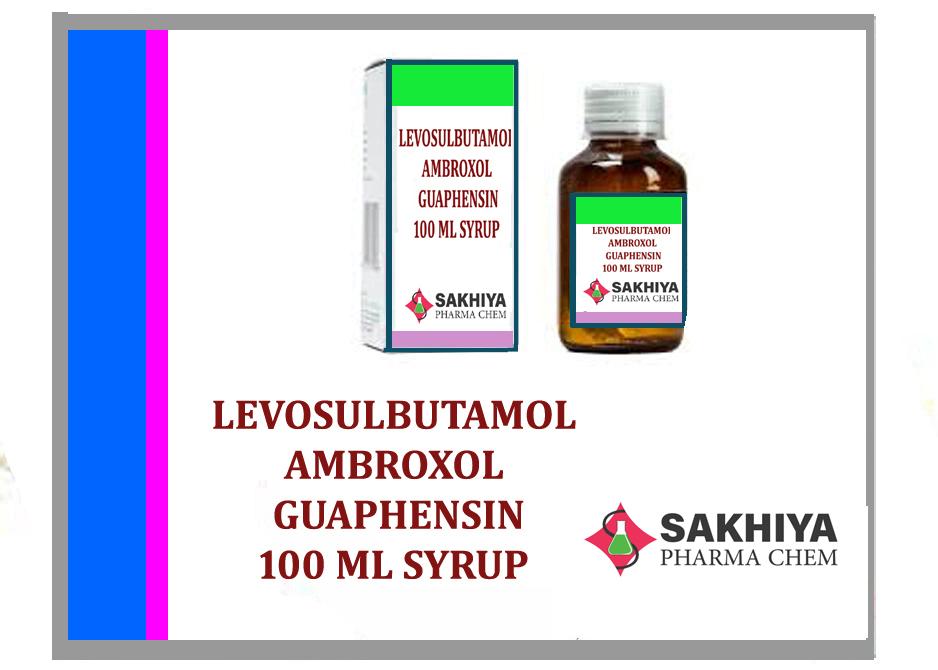Levosalbutamol + Ambroxol & Guaifenesin 100ml Syrup