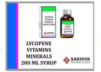 Lycopene Vitamins Minerals 100ml Syrup