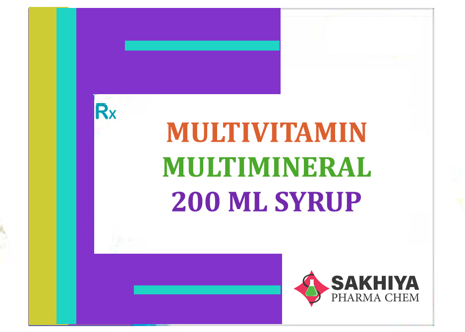 Multivitamin + Multimineral 200ml Syrup