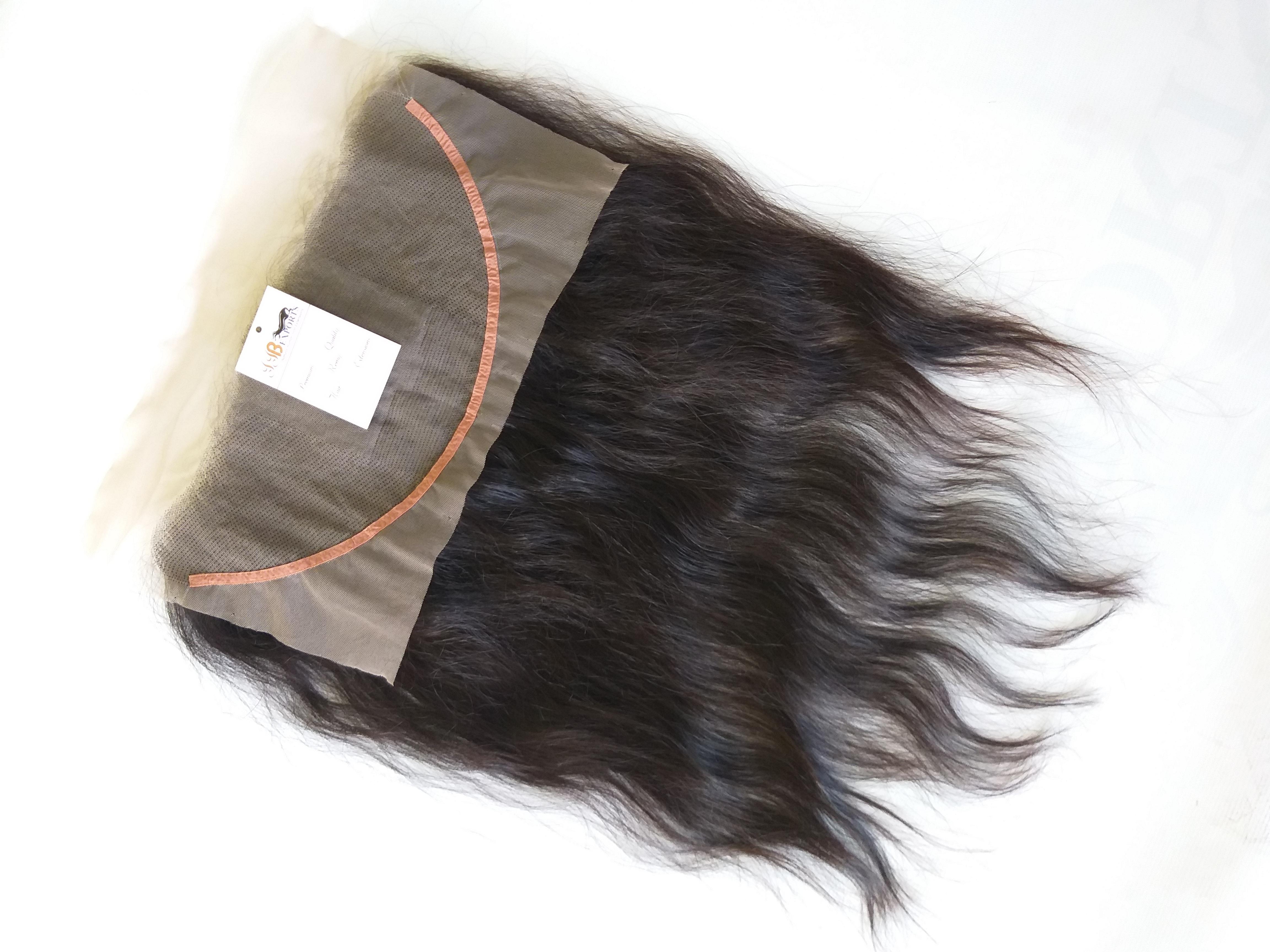 Raw Indian Unprocessed Temple Virgin Human Swiss Hd 13x4 13x5 13x6 Lace Frontal Hair Vendor