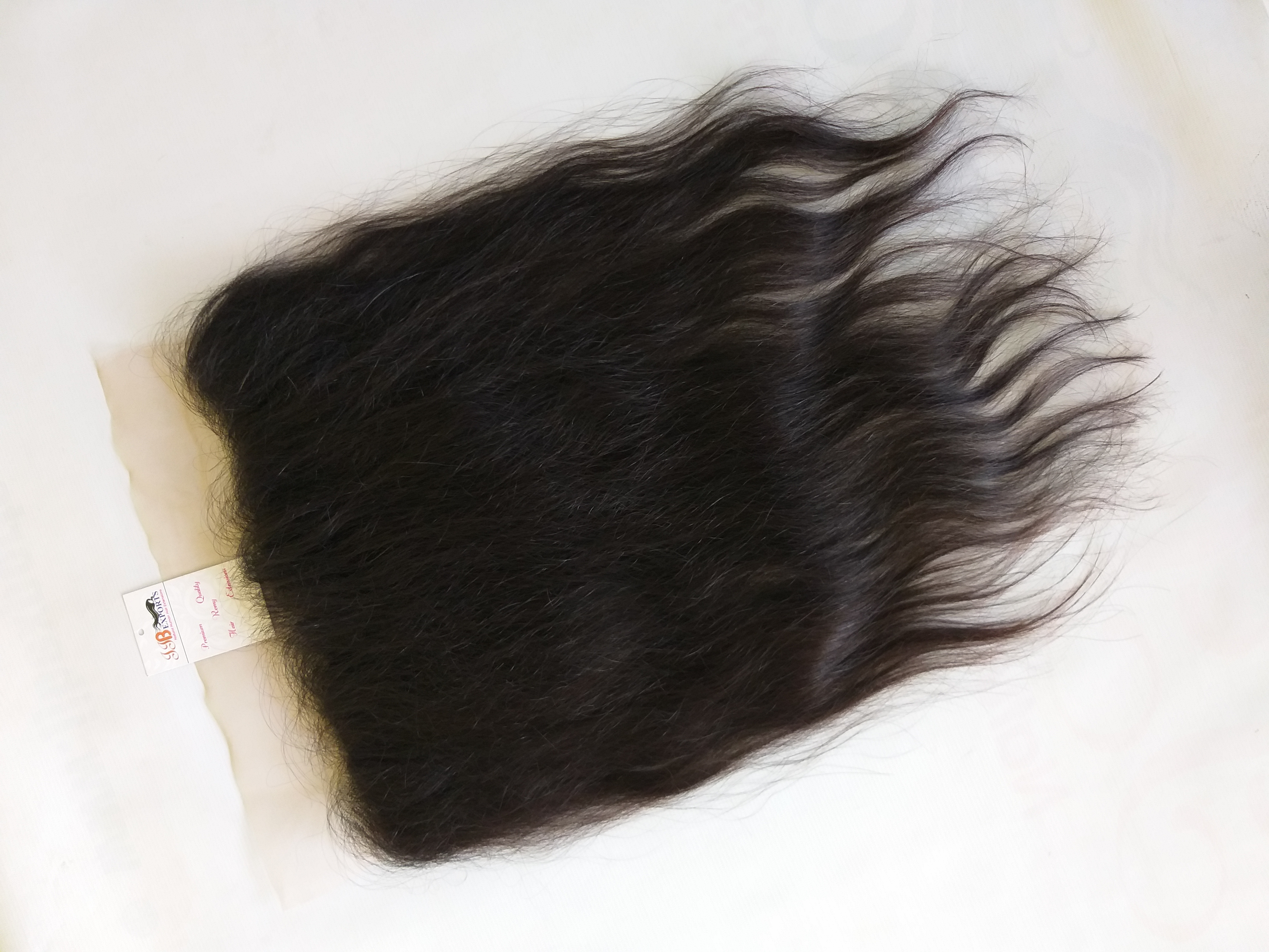 Indian Human Mink Curly/straight/wavy/body Wave Hair Weave Bundles Frontal Closure Swiss Transparent Full Lace Wigs