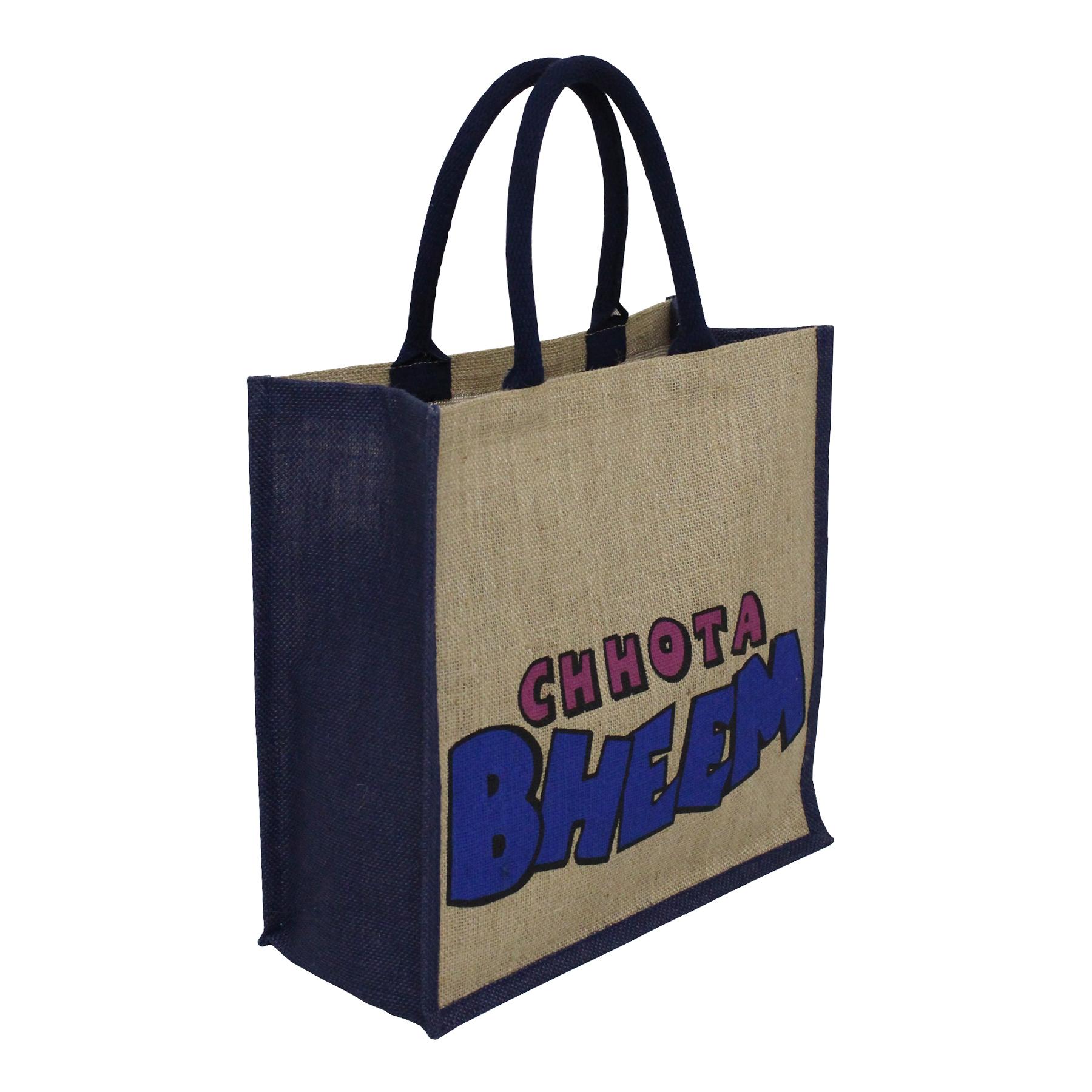 Pp Laminated Jute Promotional Bag