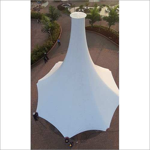 Tensile Tall Cone Structure