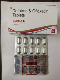 Cifixime and Ofloxacin tablets
