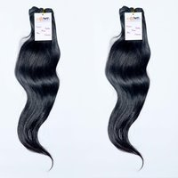 Indian High Quality Factory Price 100% Natural Color Silky Straight Human Hair Extensions In Wholesale Price