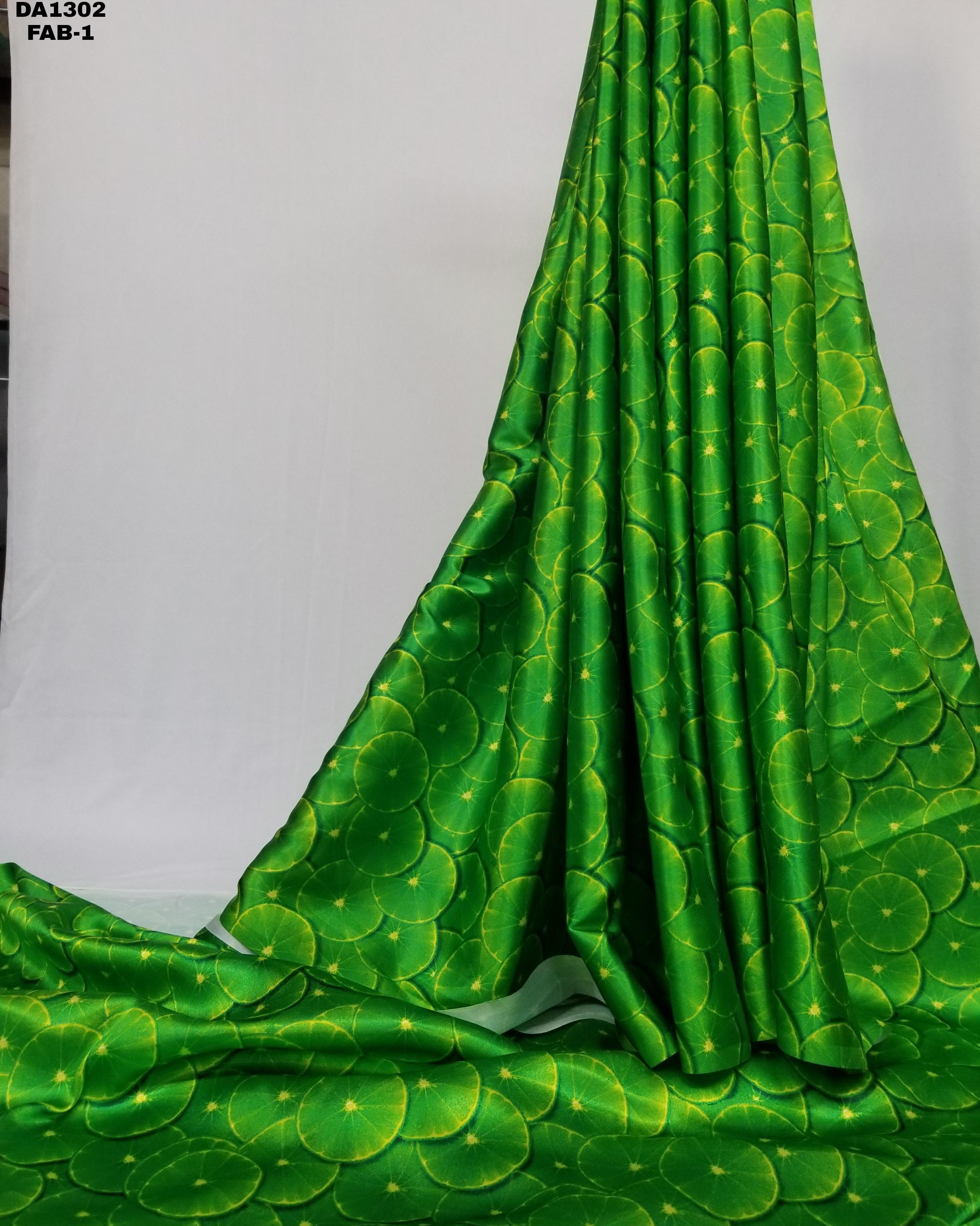 Japan Sartin Silk Digital Print Fabric